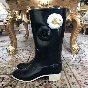 Chanel Rainboots